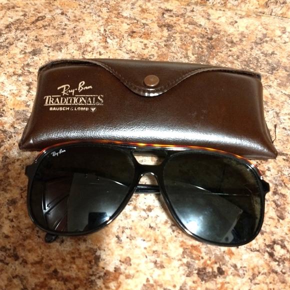 Vintage Ray-Ban Cats 500 Sunglasses Unisex